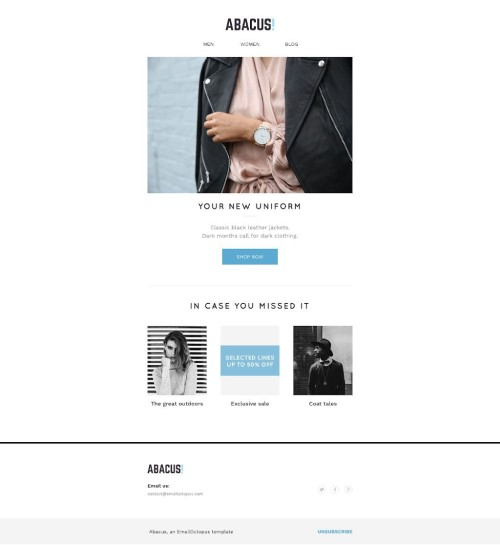 free email templates for marketing  Email Octopus