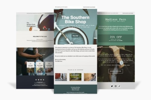 free email templates for marketing Mailchimp